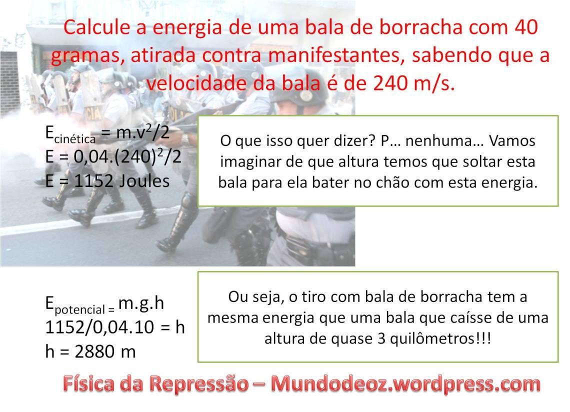 Física da Repressão