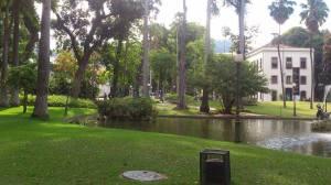 Jardim do palácio do Catete